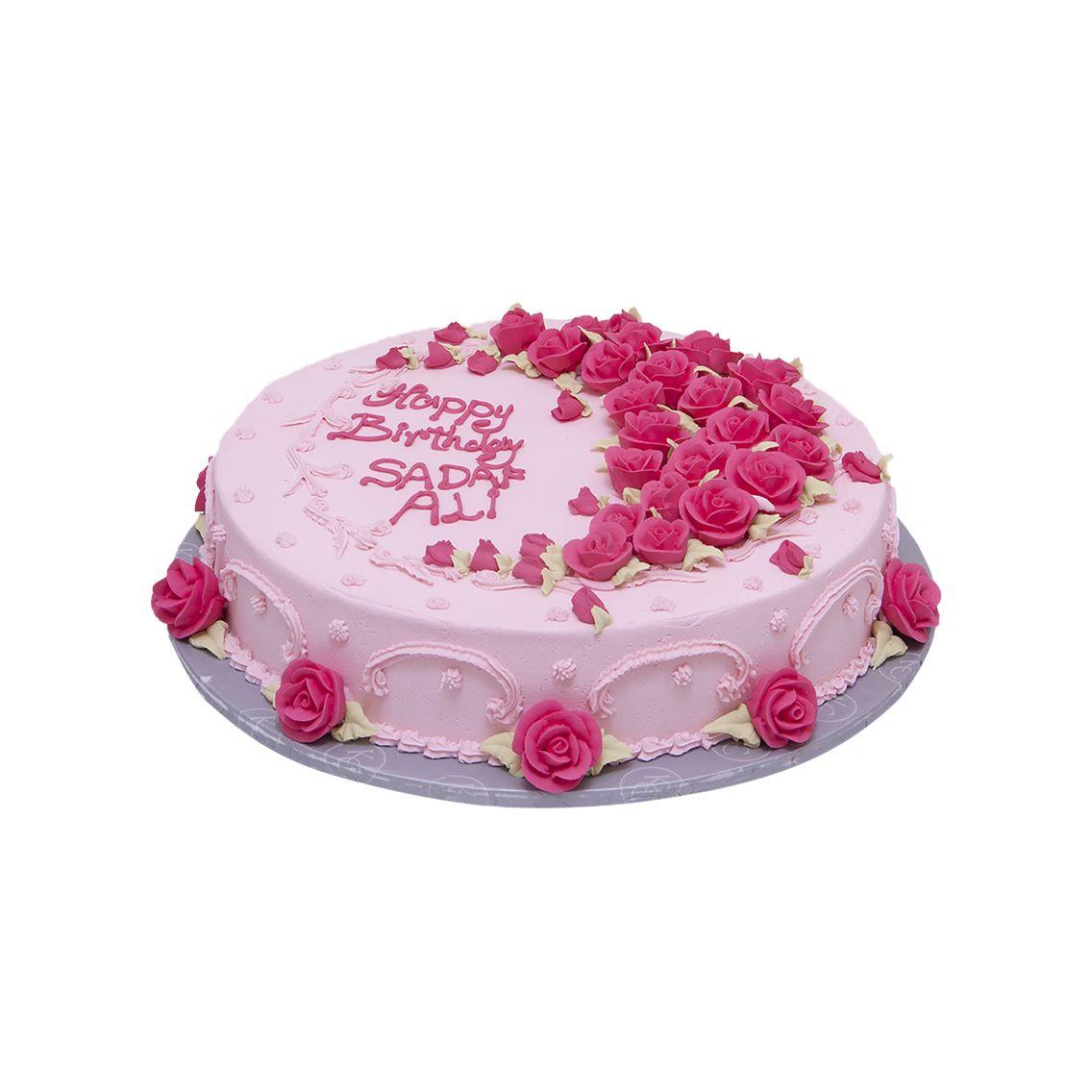 Kitchen Cuisine Default Category Pink Flowers Cake