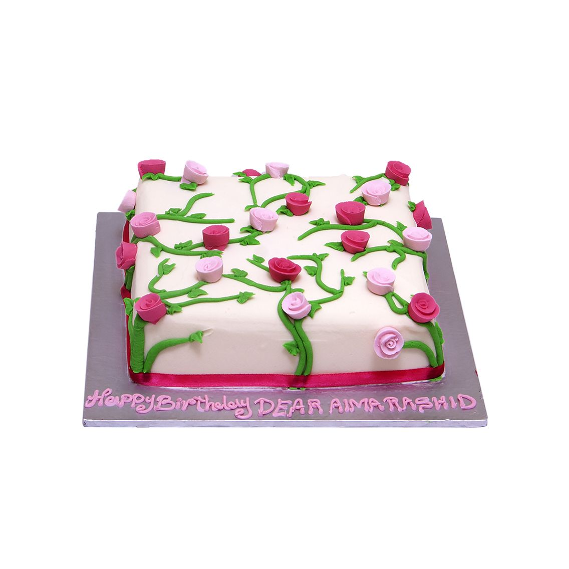 Kitchen Cuisine Default Category Flower with Leaves Cake