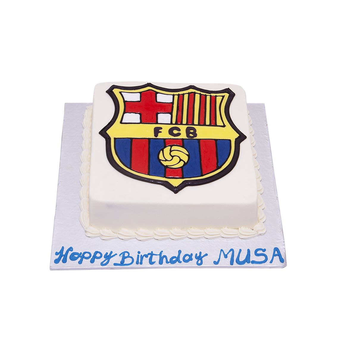 Kitchen Cuisine Default Category FC Barcelona Cake