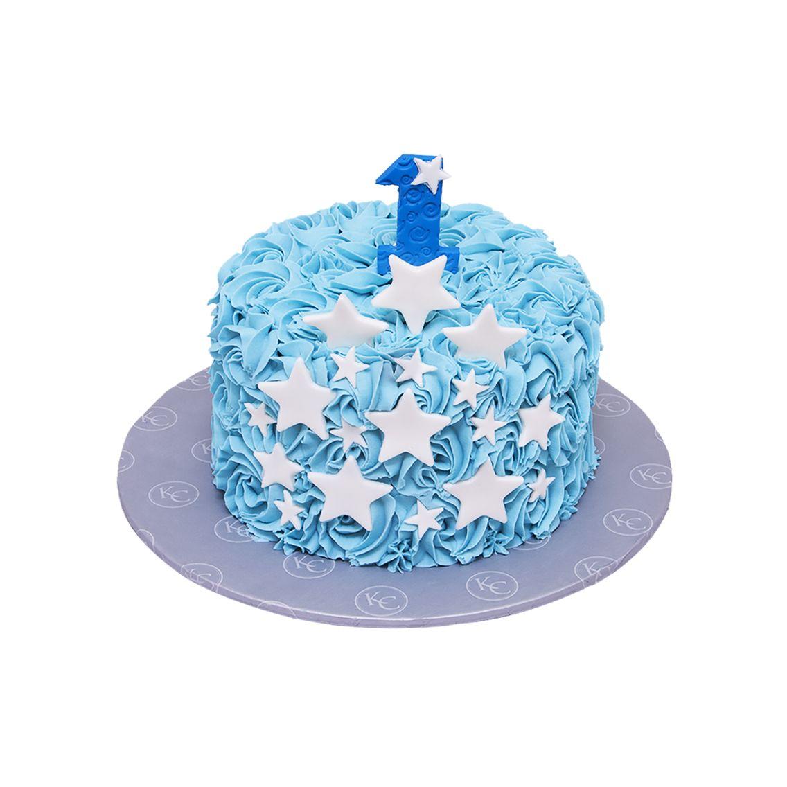 Kitchen Cuisine Default Category Blue Star Rosette Cake