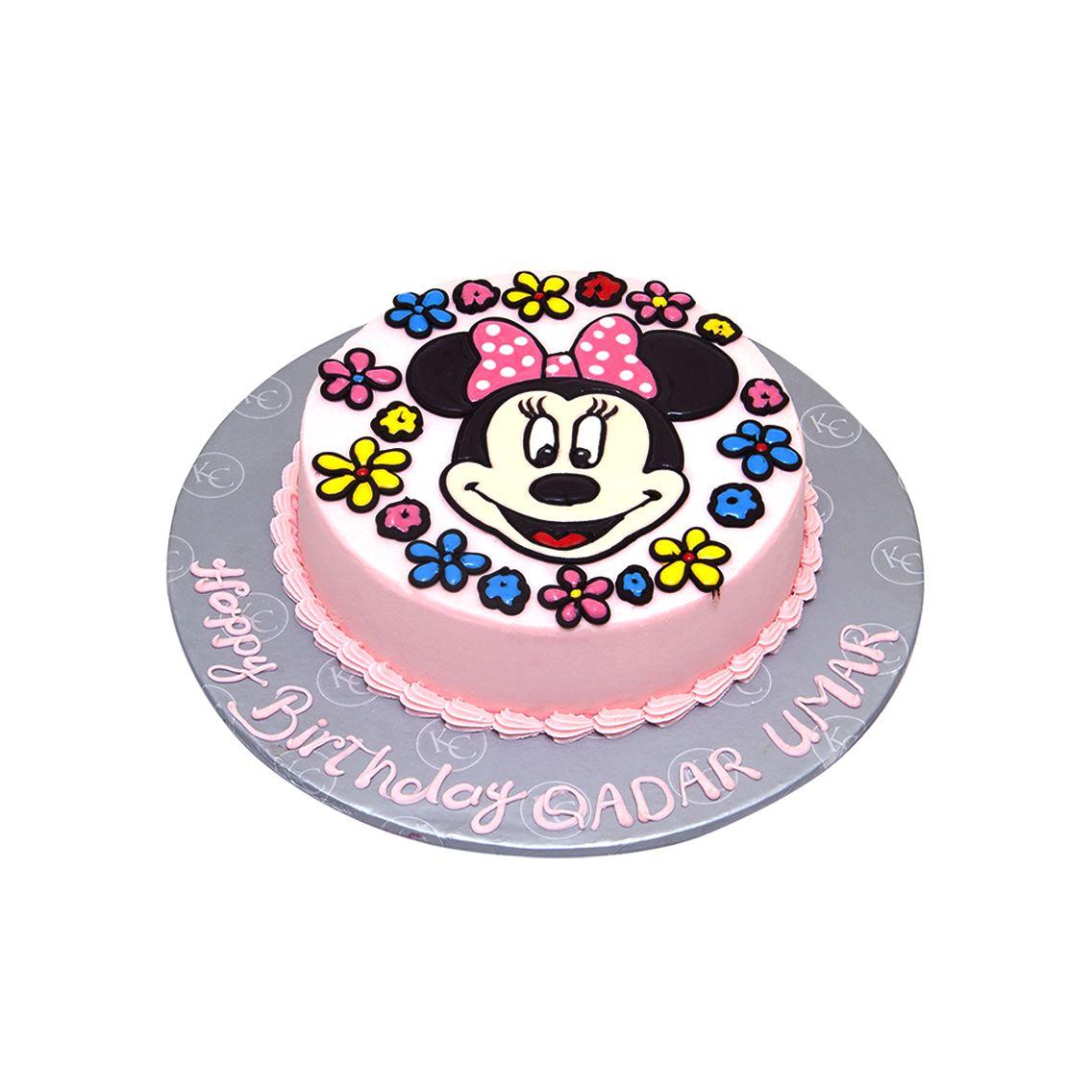 Kitchen Cuisine Default Category Minnie Mouse Face Cake