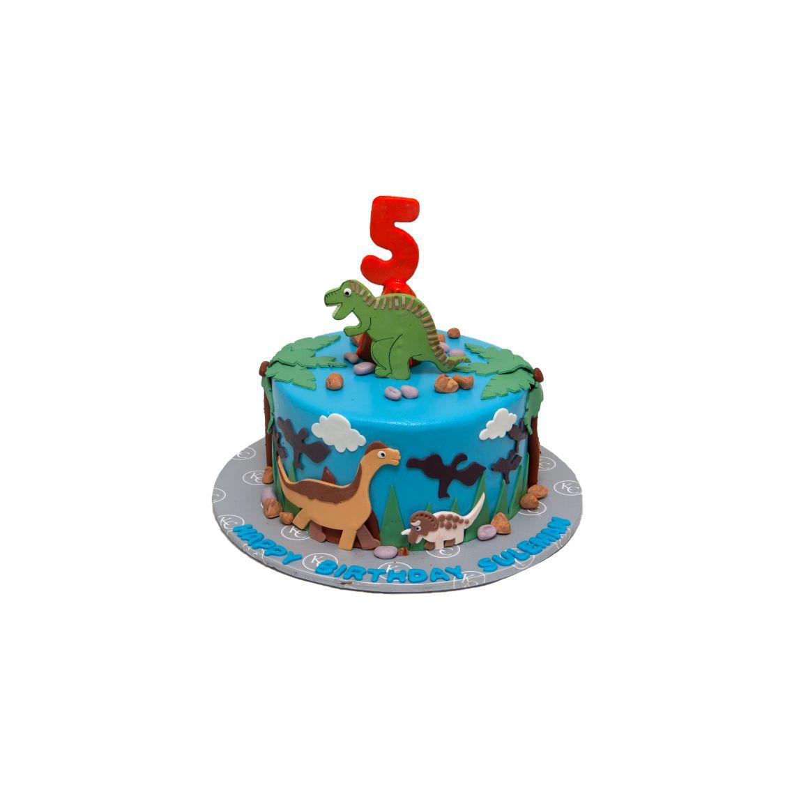 Kitchen Cuisine Default Category Dinosaur Theme Cake