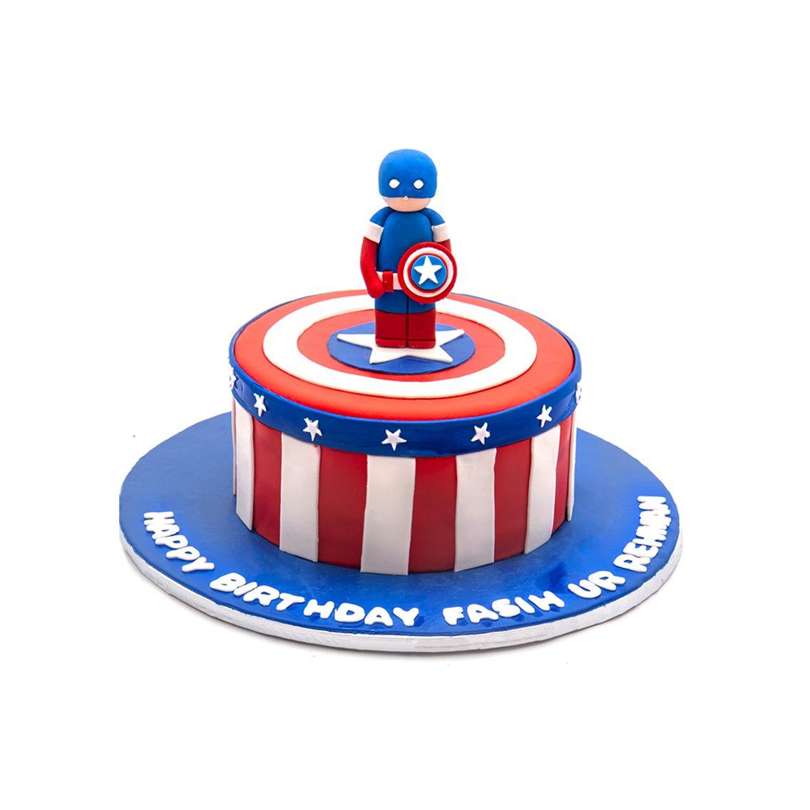 Kitchen Cuisine Default Category Captain America Cake