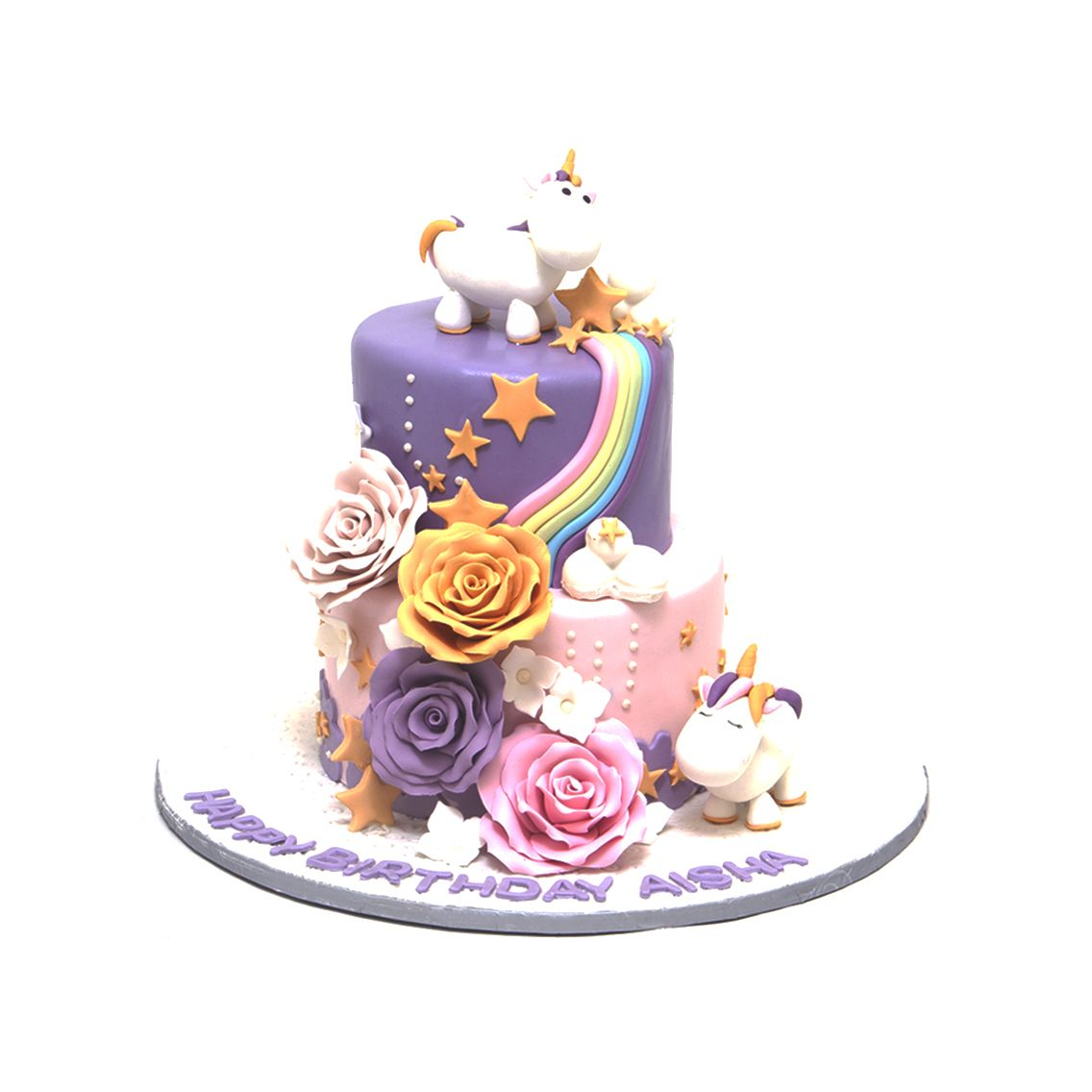Kitchen Cuisine Default Category Unicorn & Rainbow Cake