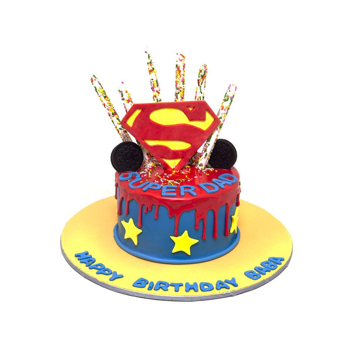 Kitchen Cuisine Default Category Superman Cake