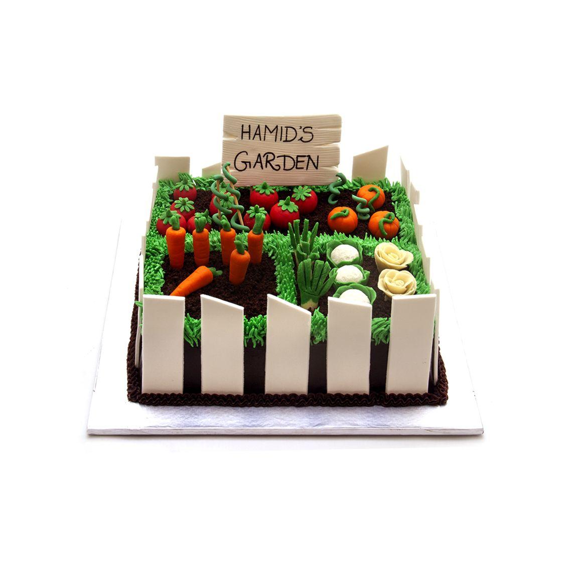 Kitchen Cuisine Default Category Garden Theme Cake