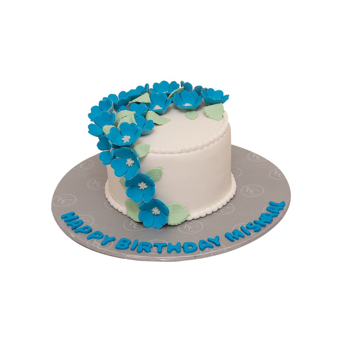 Kitchen Cuisine Default Category Blue Flower Cake