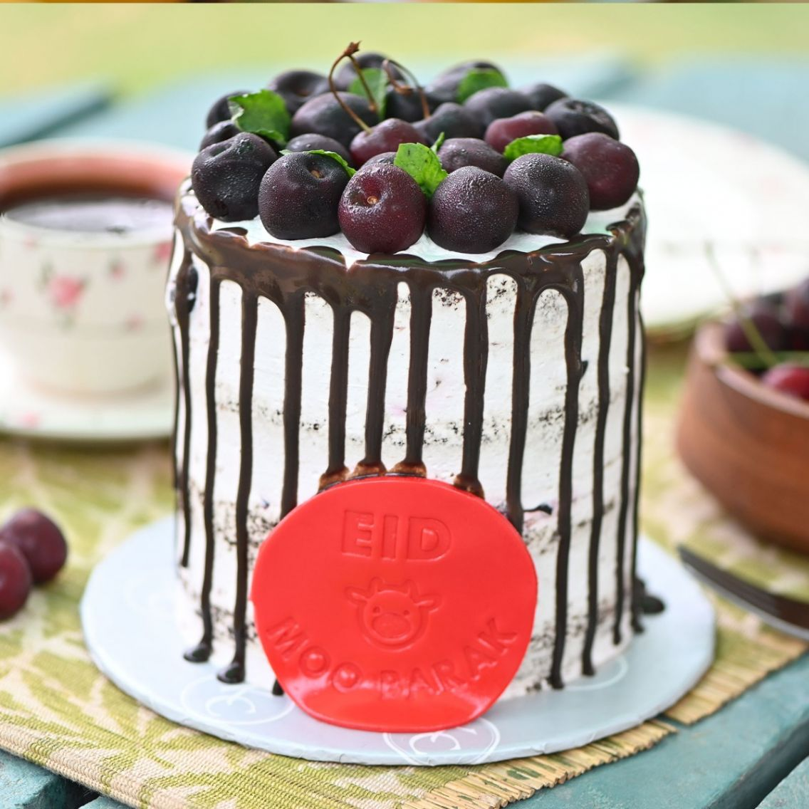 Kitchen Cuisine Default Category Fresh Cherry Chocolate Cake