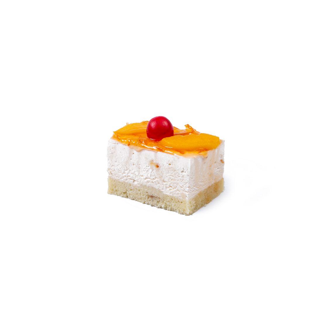Kitchen Cuisine Default Category Peach Orange Mousse Pastry