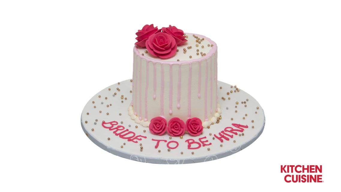 Kitchen Cuisine Default Category Red Rose with Pearls Cake