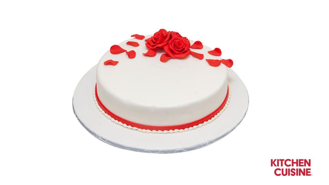 Kitchen Cuisine Default Category Red Rose Cake