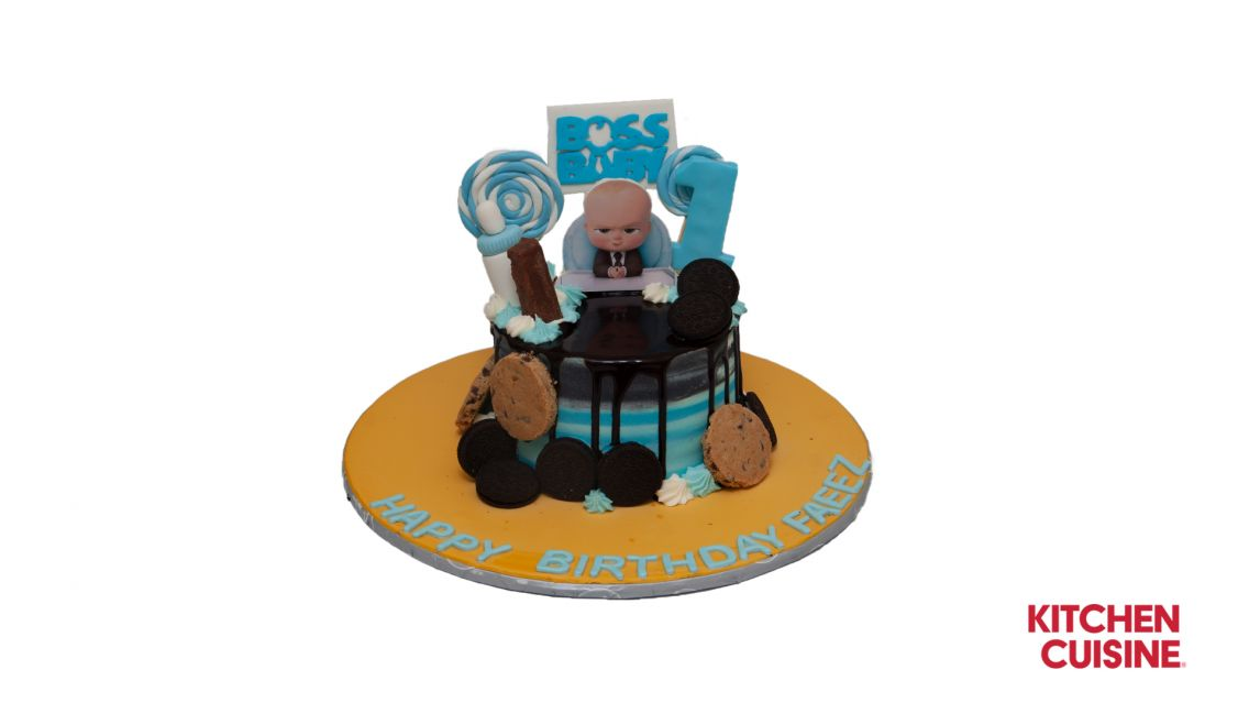 Kitchen Cuisine Default Category Boss Baby with Cookies Cake