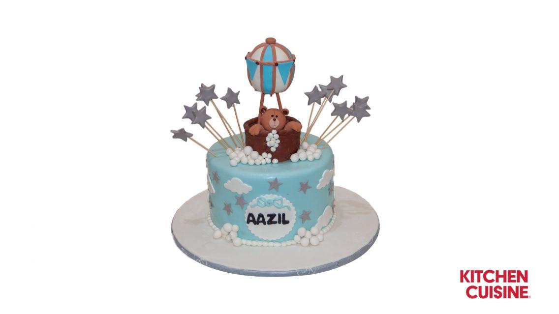 Kitchen Cuisine Default Category Hot Air Balloon Teddy Bear Cake