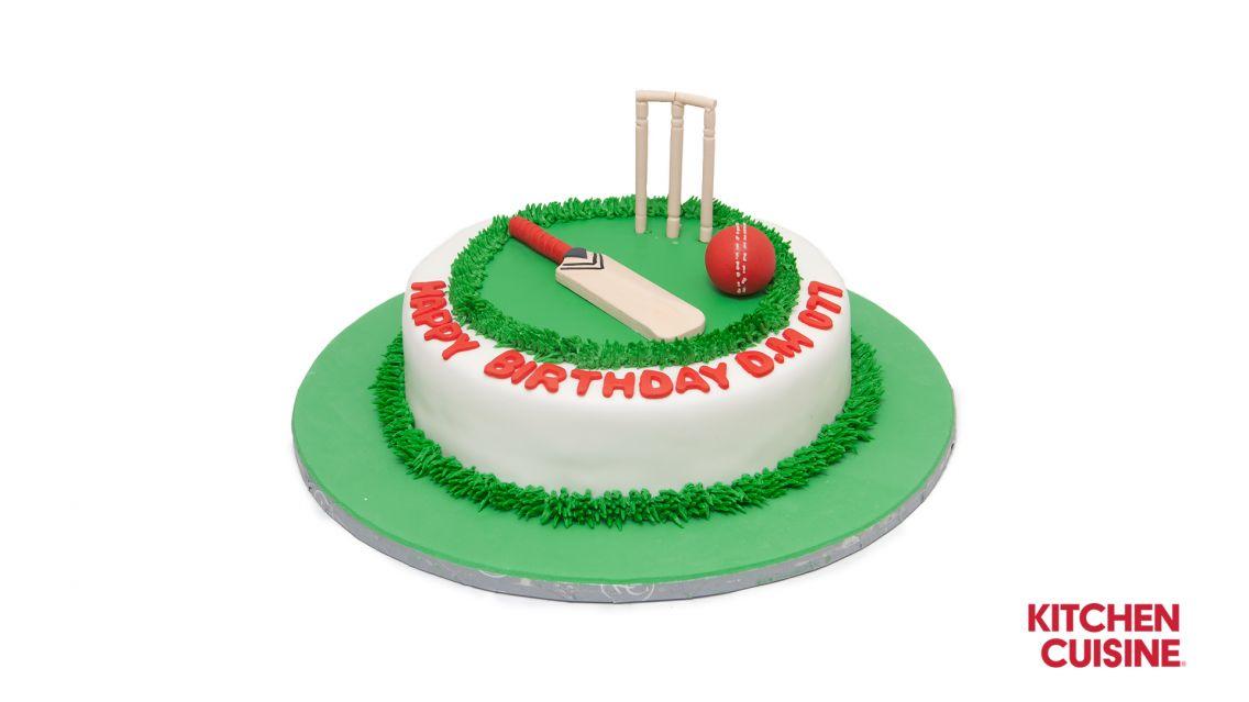 Kitchen Cuisine Default Category Cricket Cake