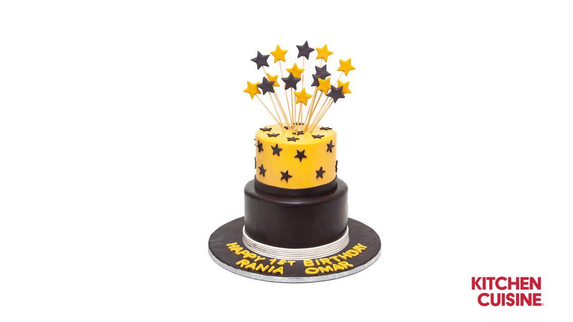 Kitchen Cuisine Default Category Star Theme Cake