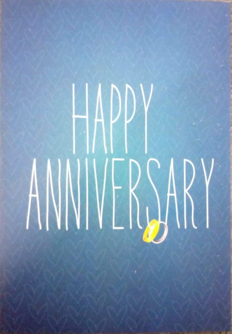 Kitchen Cuisine Gifts-Baubles Anniversary Card