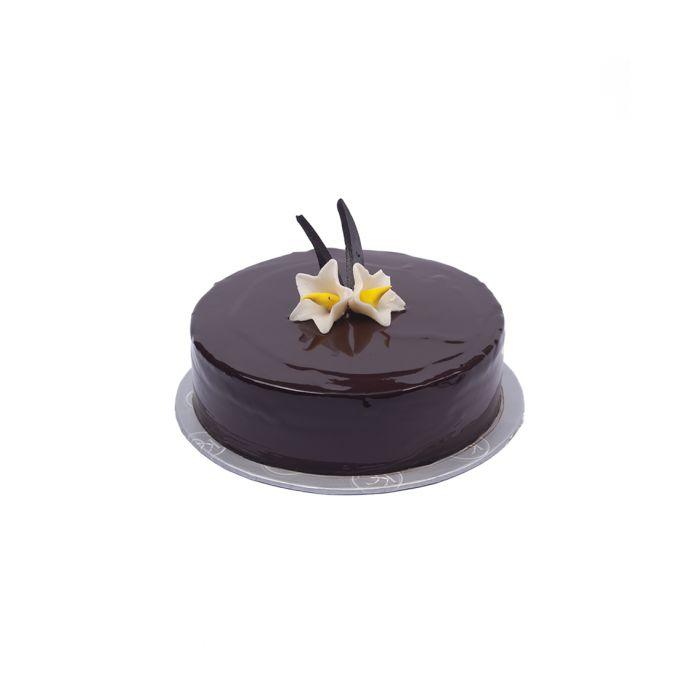 Chocolate Praline Crunch Cake