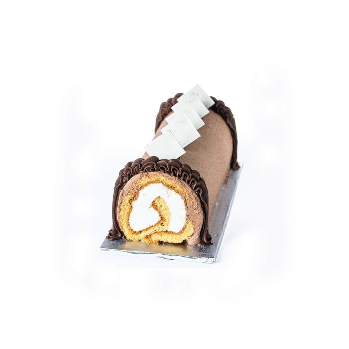 Chocolate Ice Cream Roll