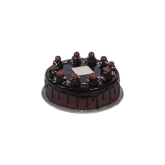 Double Chocolate Malt Cake