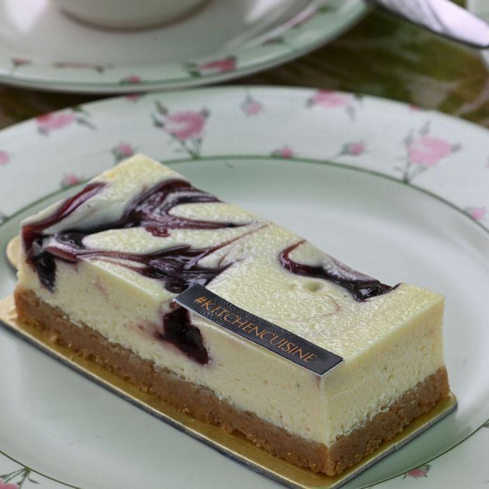 NY Blueberry Cheesecake Slice