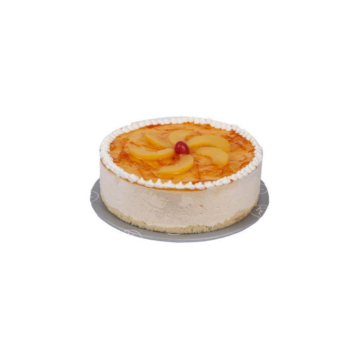 Peach Orange Mousse Cake