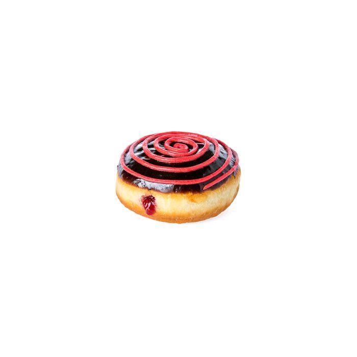 Raspberry Chocolate Donut