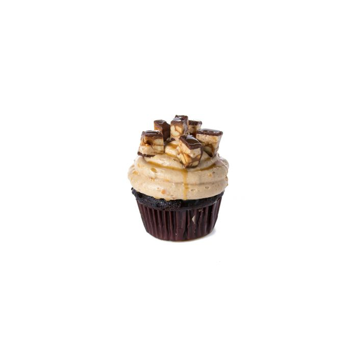 Snicker cupcake